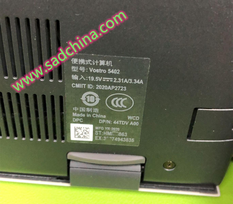 戴尔(Dell)Vostro 5402笔记本电脑(11代处理器)启动灰大师Win10PE